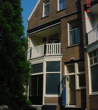 Straatweg in Rotterdam