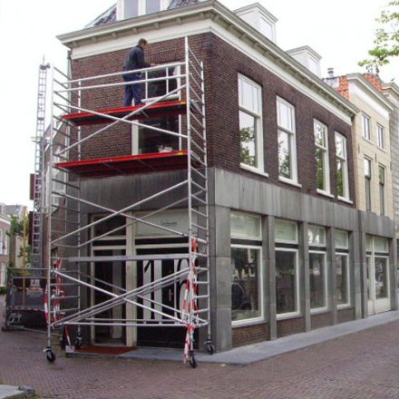 Renovatie in Delft