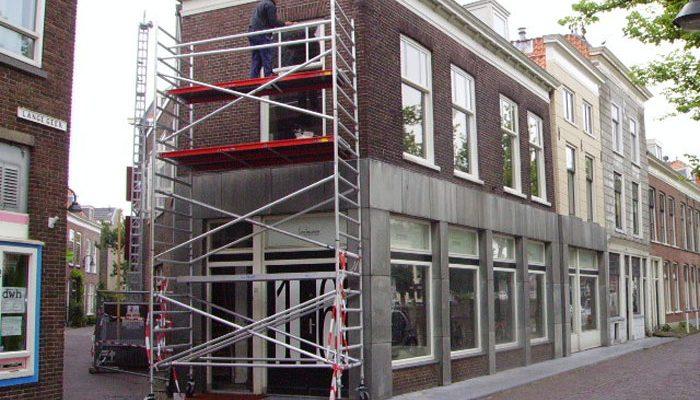 Renovatie in Delft