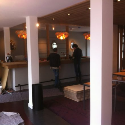 Verbouwing restaurant Groenland Driebergen