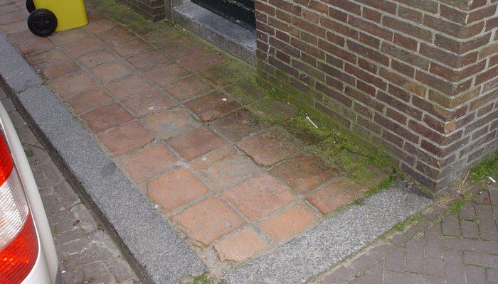 Stoepen in Delft